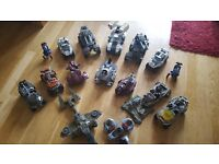 Selection of 16 Mega Bloks / Lego Halo Vehicles