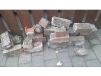 reclaimed vintage bricks