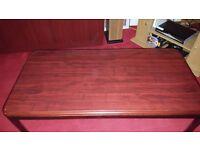 Dark Brown wood Coffee Table