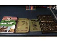 Four brand new minecraft books