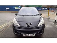 58 PLATE PEUGEOT 207 AND 1.4 PETROL, VERY RELIABLE, LONG MOT, CHEAP ROAD TAX
