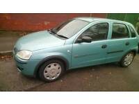 Cheapest 5 door 1.2 vauxhall corsa lady owner bargain quick sale
