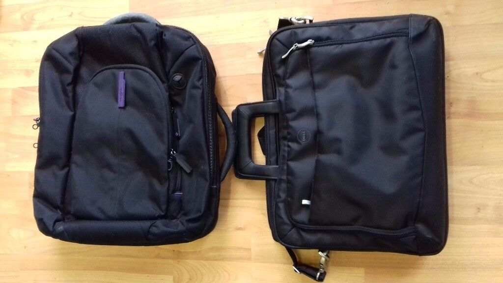 !_(£25)Samsonite Laptop Business Case/backpack with handles +DELL (Brand new) Laptop Business Case_!