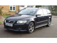 VOLVO V50 2.0 SPORT D 5d 135 BHP EXCELLENT CONDITION LEATHER TRIM, SERVICE RECORD