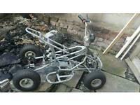 Quad mini moto frame