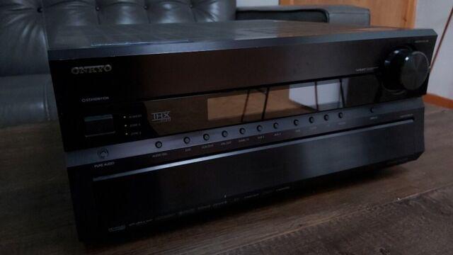 ONKYO TX-SR805 AV RECEIVER AMPLIFIER HOME THEATRE CINEMA MUSIC SURROUND  SOUND SYSTEM | in Kilmaurs, East Ayrshire | Gumtree
