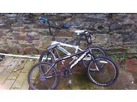 2 bmx bikes needs doing up