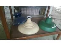 Various lamp shades
