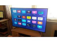 "HISENSE 55"" 4K UHD SMART LED TV (FREEVIEW)"