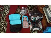 iSafe car seat & accessories