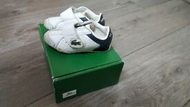 Lacose velcro trainers size 4 nursery in good condition