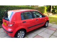 Hyundai Getz 1.3 GSI - 2003 - 5 door hatchback - petrol - manual - rear split seats - CD/radio