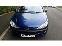 Peugeot 206 Blue 5-dr 1.4 with 12 Months MOT £700