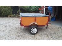 Car Trailer with cover.