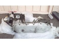 gilera dna 50cc engine,may also fit piaggio 50cc mopeds