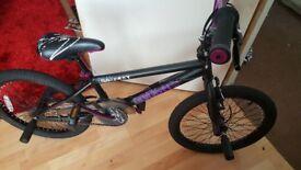 New bike helmet and Bmx bike