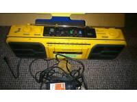 Vintage Sony Walkman water resistant portable stereo cassette deck