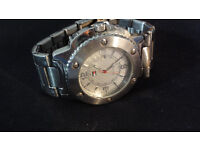 Beautiful Genuine Authentic Tommy Hilfiger Mens Watch Silver Excellent Condition Working Perfectly
