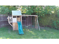 Dunster House climbing Frame for sale in excellent condition