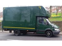 Chris's Removals Man and Big Luton Van 1 to 3 men full House Removals single items Leeds Wakefield