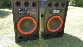 Skytec 800W Speakers with Amplifier Not Working