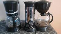 2 coffee makers - new condition - $5 each