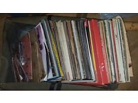 Large box of lps