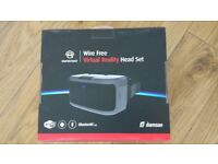 AuraVisor All-In-One Virtual Reality VR Goggles Headset With Controller