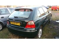 1998 ROVER 200 1.6 PETROL AUTOMATIC , , LEATHER INTERIOR , , EXCELLENT RUNNER , , CHEAP CAR