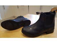 Horse Riding Black Jodhpur Boots - Dublin - Size 2