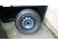 "STEEL RIM BRAND NEW Michelin Tyre 15"" 195/65/15 Renault Citroen Peugeot Vw Audi Seat Skoda Toyota sr"