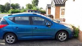 Peugeot 207 est 1.4 petrol 12 months MOT cat c 2008 reliable car all new tyres £950 ono