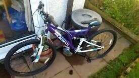 """Muddyfox Ladies/Girl 26"""" bike"""