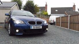 BMW 520d M Sport Le Mans Blue - MSPORT - Touring