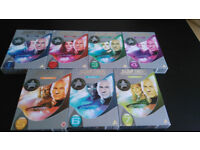 Star Trek the Next Generation season 1-7 dvd complete series Patrick Stewart