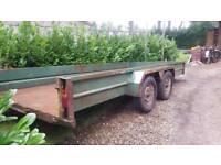 large twin axle trailer/transporter