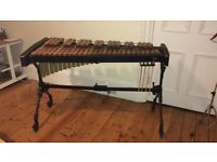 Adams xylophone (3.5 octaves): in very good condition and lovely sound. Includes mallets and books.