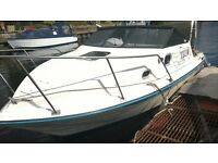 Global 196 19 ft Sports Cabin Cruiser. Project.
