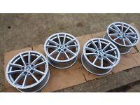 "17"" genuine BMW G20 alloy wheels 6883520 (5x112) with TPMS sensors - RRP £1,300 - Audi Mercedes"
