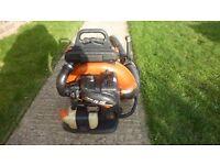 Echo pb750 large professional backpack blower cost around £500 (Newick)