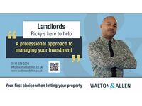 Property WANTED to rent - Landlords & Investors NEEDED