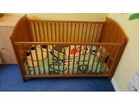 Cot Bed and Matching Dresser 2 Piece Set - Cavesham Bruin Toys R Us