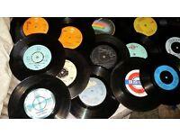 (119) Vinyl singles for sale