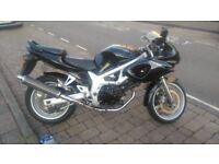 Suzuki SV650 ('99) original year of production - good condition - very reliable motorbike