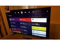 LG 43 INCH 4K ULTRA HD HDR LED TV-43UH610, with wifi, Freeview HD & FREESAT HD,Excellent condition