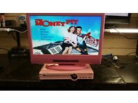 TV AND DVD COMBO PINK COLOR