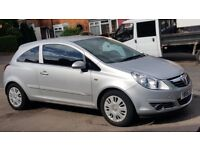 VAUXHALL CORSA 1.3 CDTI 2006 NEW SHAPE LADY OWNED VERY LOW MILES FULL SERVICE HISTORY 30 POUND TAX