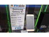 Samsung Galaxy S7 Gold, Unlocked, Brand new