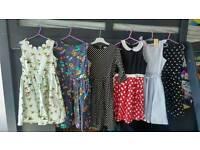 Bundle of 6 lindy bop dresses 7-8 years