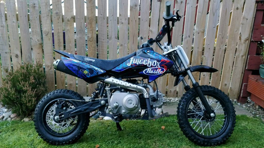 Stomp Juicebox mini Dirt bike 110cc